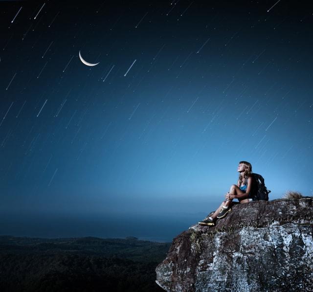 Oriónidas, lluvia de estrellas