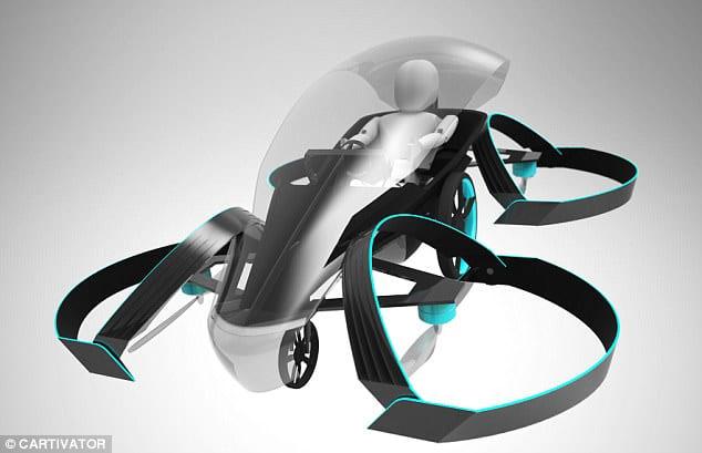 Este Es El Auto Volador Que Fabrica Toyota Para Los Juegos Olimpicos