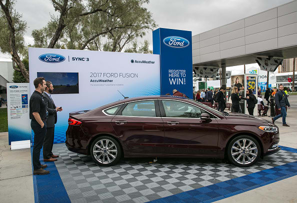 Ford Fusion_Getty