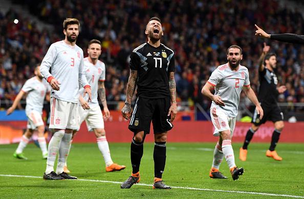 España derrotó a Argentina