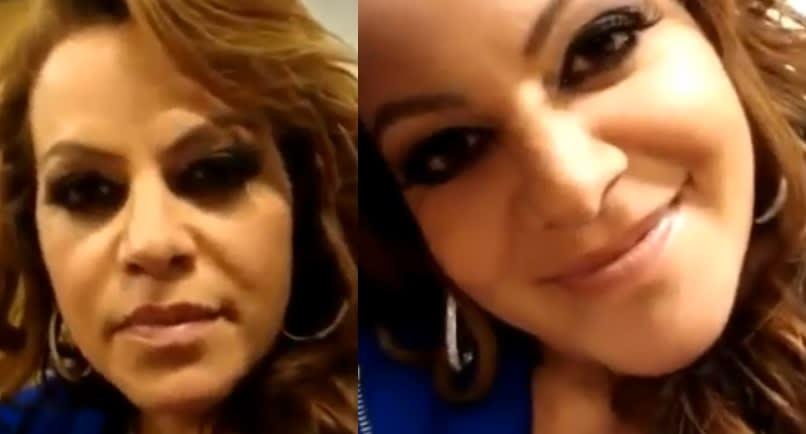 El día que Jenni Rivera se quitó el brasier frente a todos (VIDEO)