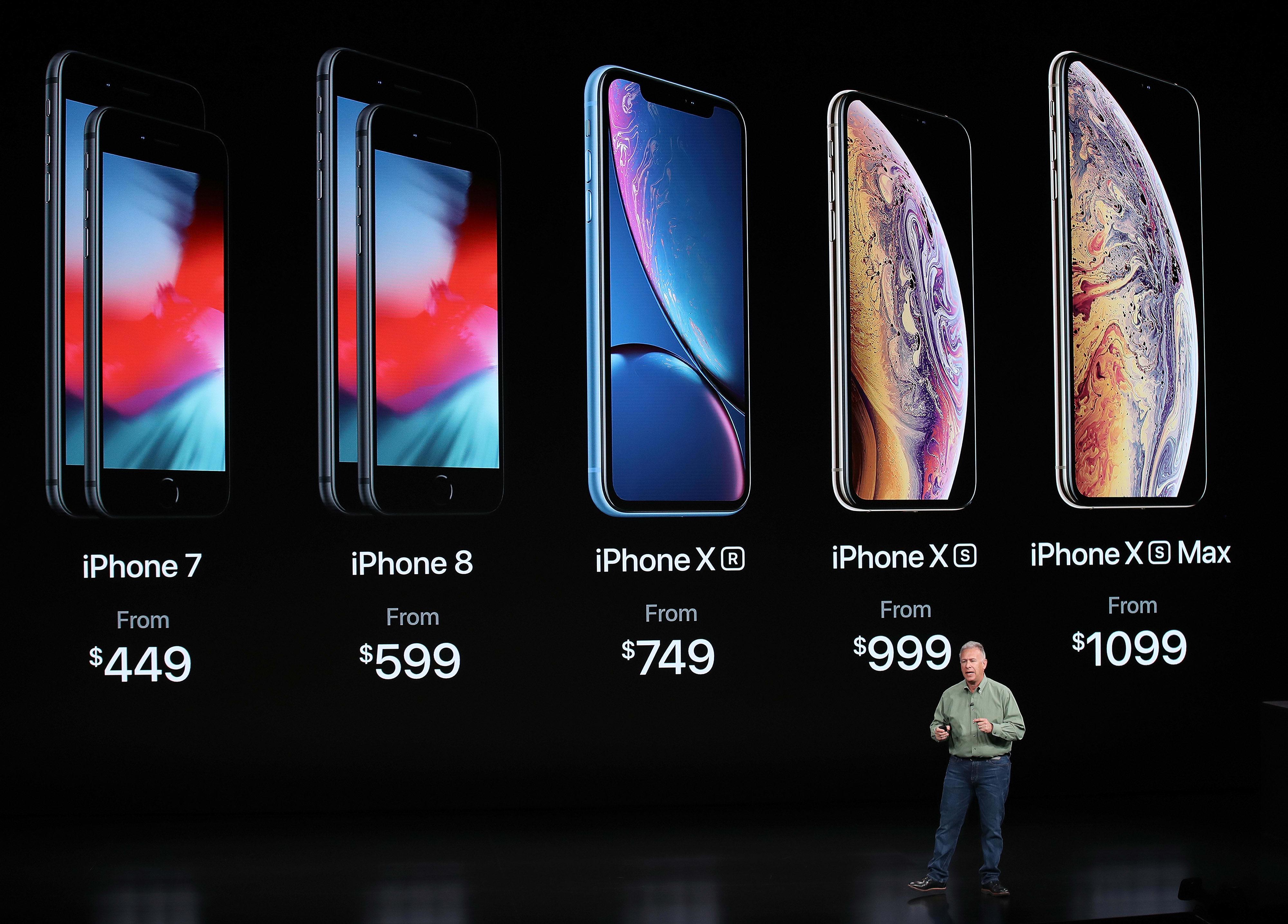 iPhone XS y XS Max: los teléfonos más caros de Apple a la fecha