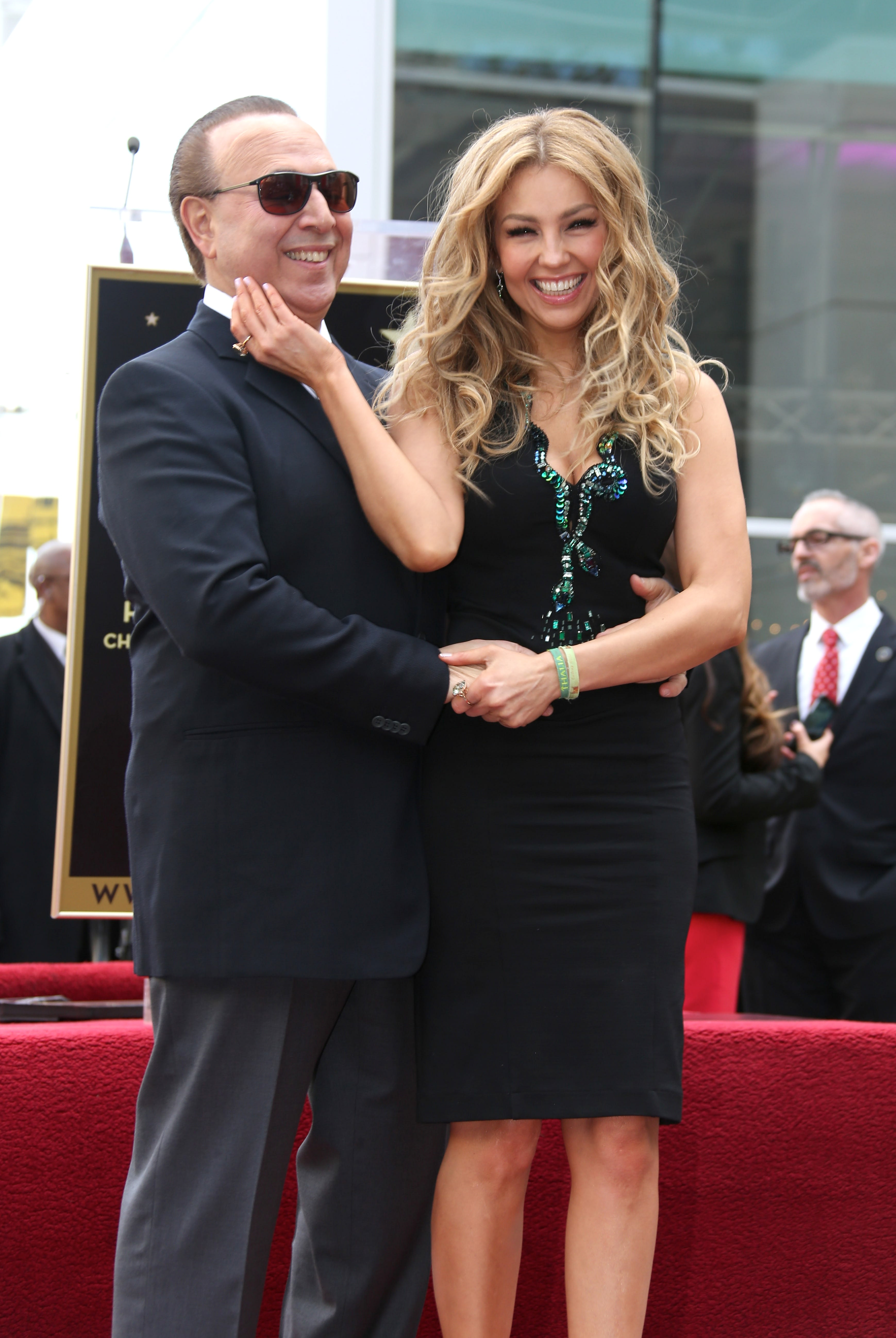 Raúl de Molina exhibe el momento más íntimo de Thalía y Tommy Mottola (VIDEO)