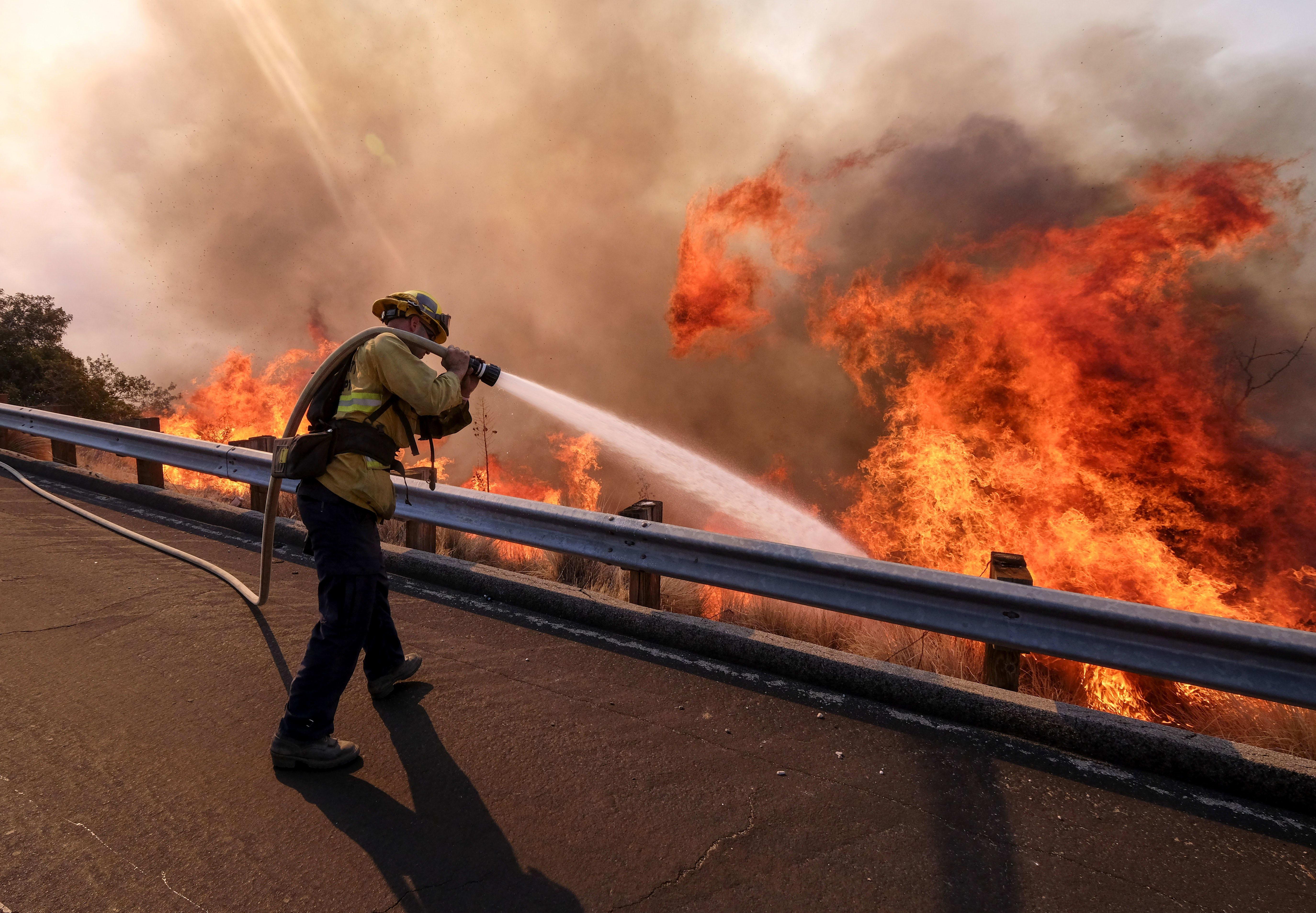 Alerta por incendios en California: Mapas de incendios y evacuaciones
