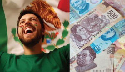Peso mexicano alza