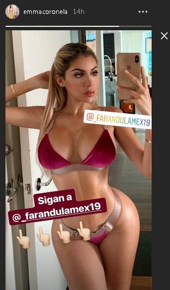 Alexa Dellanos - Instagram Emma Coronel