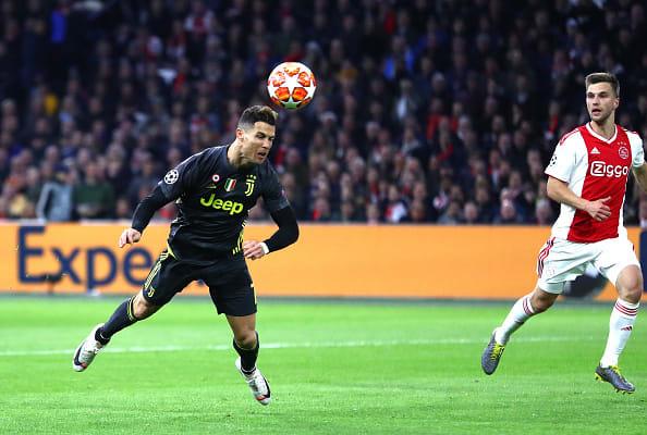 Cristiano marca, pero Ajax rescata empate ante Juventus