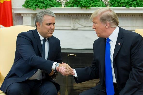 Trump critica a Duque y acusa a Colombia de enviar criminales al país