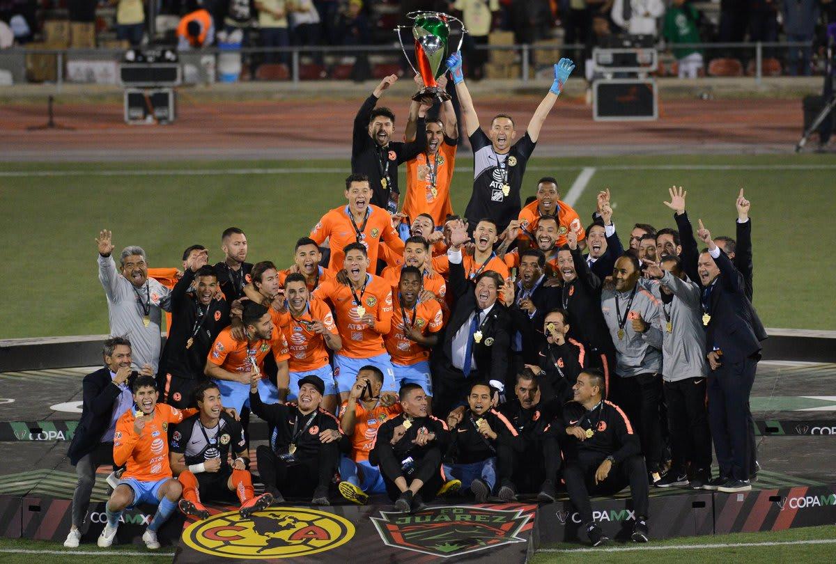 América derrota a Ciudad Juárez y se corona campeón de la Copa MX