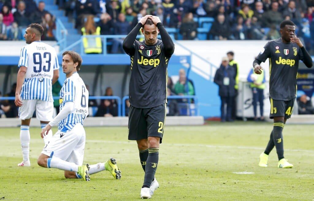 Spal frena marcha de Juventus por su 8vo título