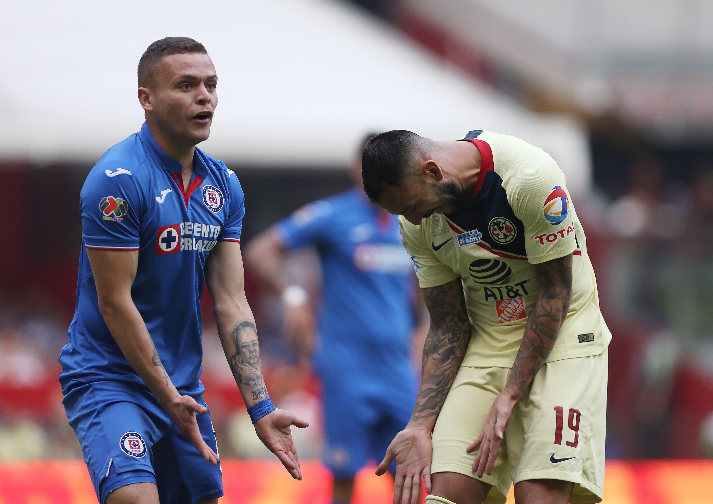 América y Cruz Azul empatan sin goles en el estadio Azteca