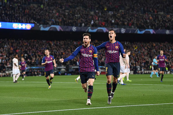 Messi mete al Barcelona en semifinales en 4 minutos