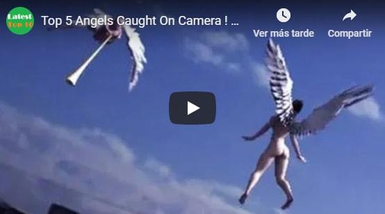 Ángeles reales captados en cámara… ¡asombroso