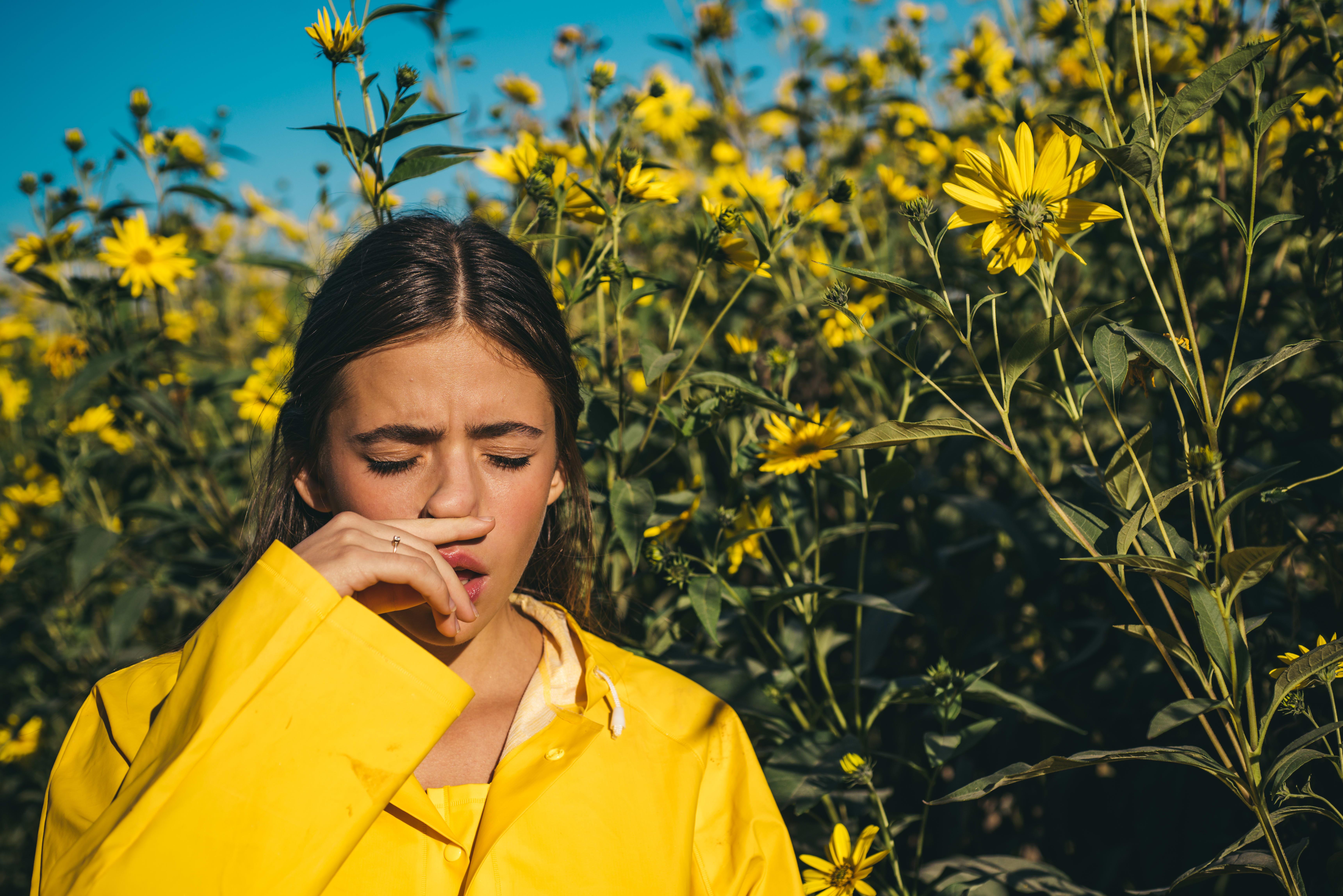 Alergias por causa del polen: cómo tratarlas