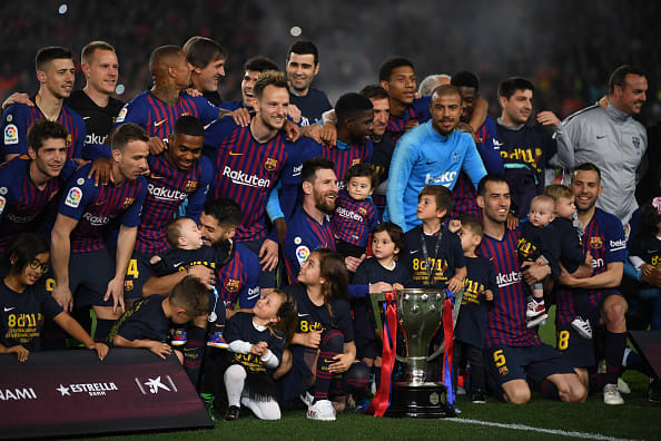 ¡Barcelona, campeón! Messi sentenció La Liga