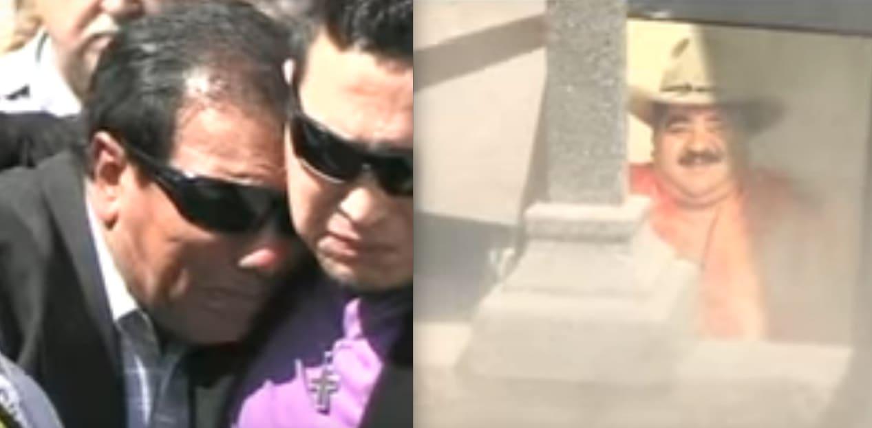 Resurge video de funeral de Choche donde Lupe Esparza hace desgarrador grito