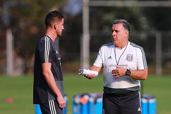 La selección mexicana inicia la concentración para la Copa Oro