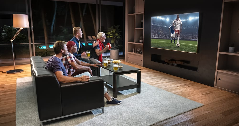 Las 11 mejores pantallas para ver fútbol ¡y todo lo demás!