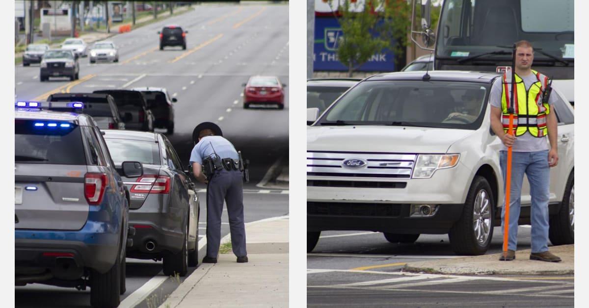 Operativo policial sorprende a decenas de conductores