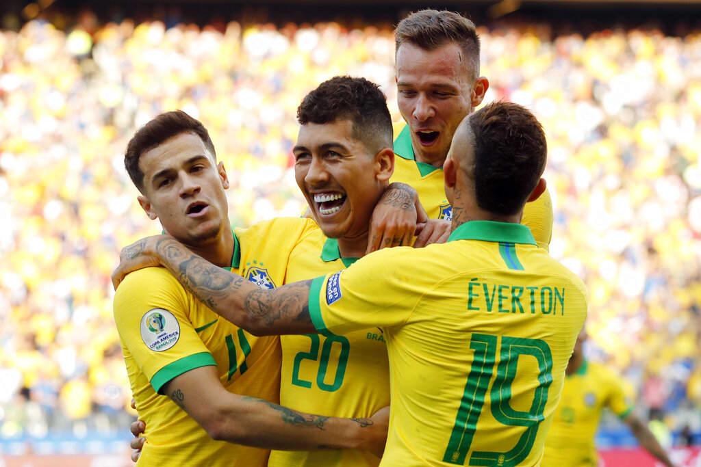 Copa América: Brasil se descarga y golea 5-0 a Perú
