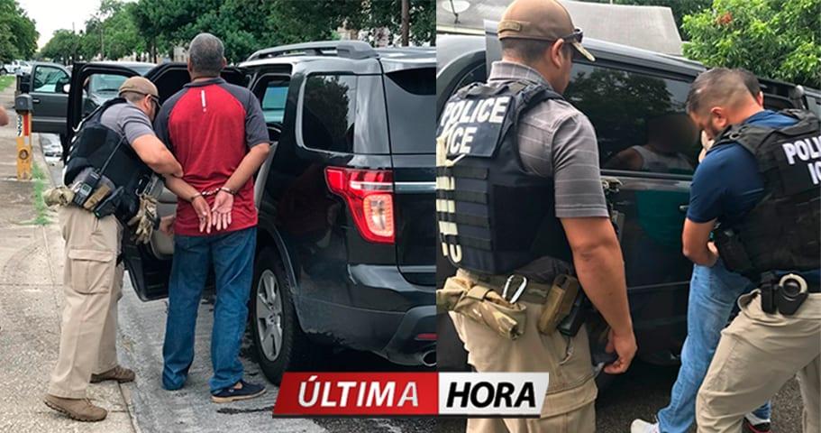 ICE detiene a más de 50 indocumentados en redadas en Texas