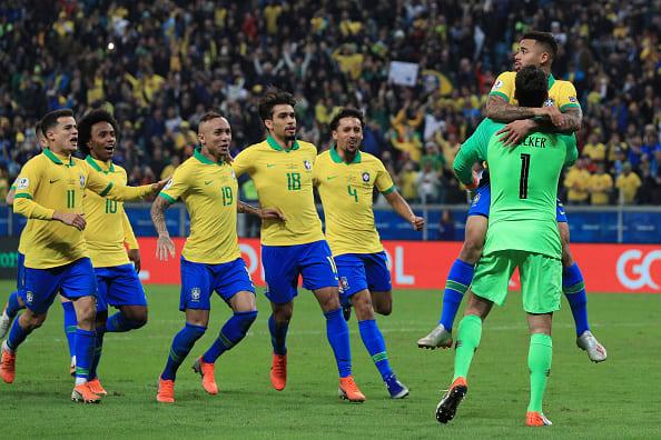 Brasil Copa América semifinales