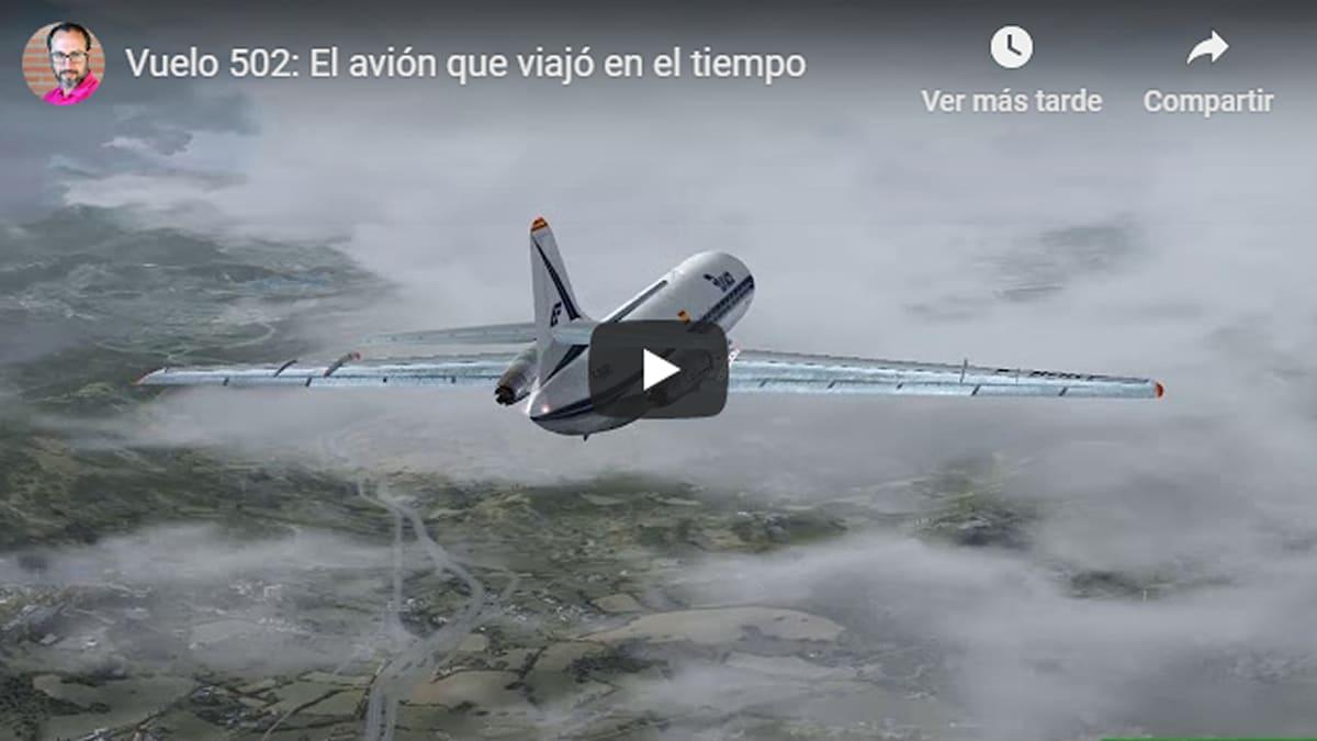 Vuelo 502: El avión que viajó en el tiempo y perdió 17 minutos inexplicables