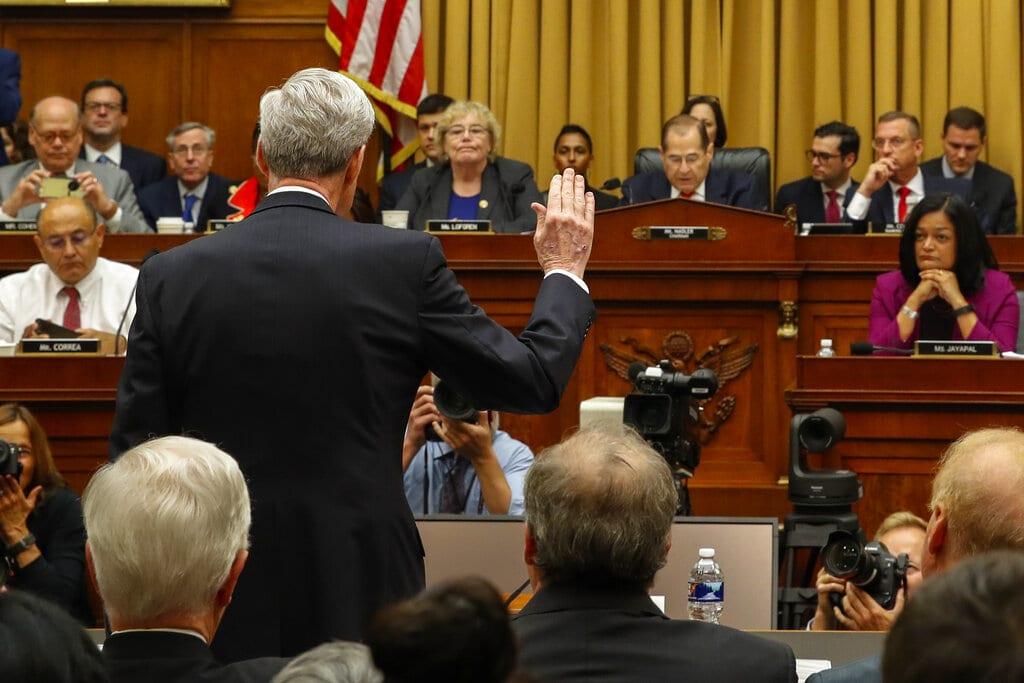 Mueller: Yo no exoneré a Trump de obstrucción