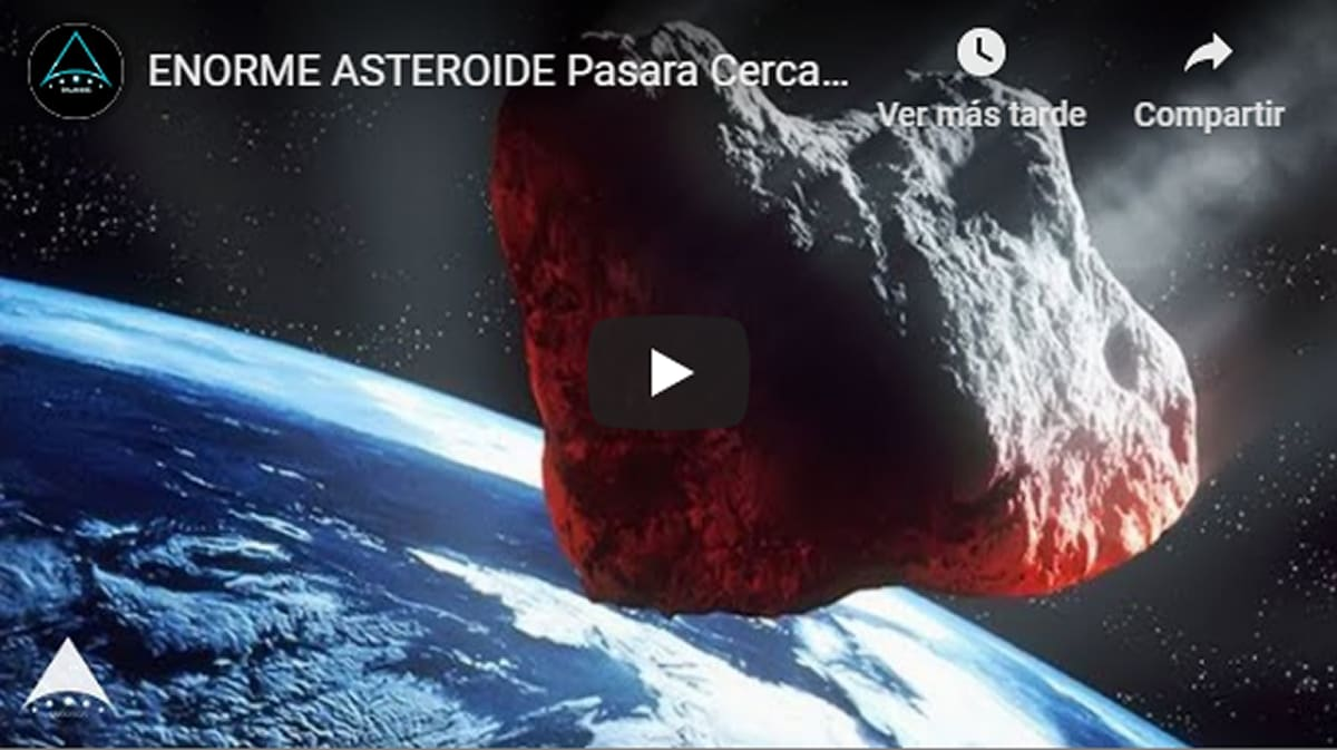 Alerta asteroide 10 de agosto: Se aproxima a la Tierra uno grande como 5 campos de fútbol (2 FOTOS Y 1 VIDEO)