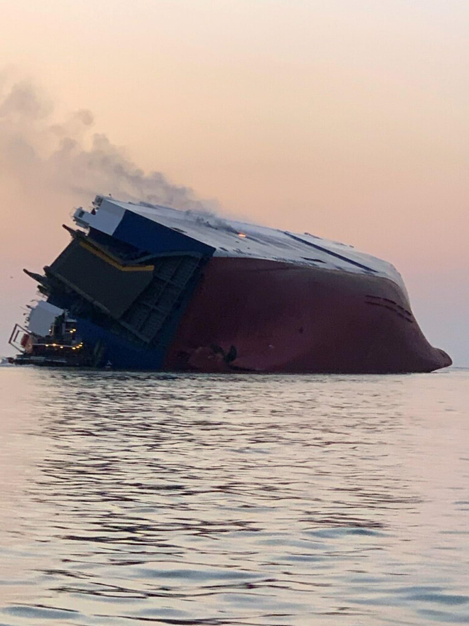 barco naufraga en Georgia