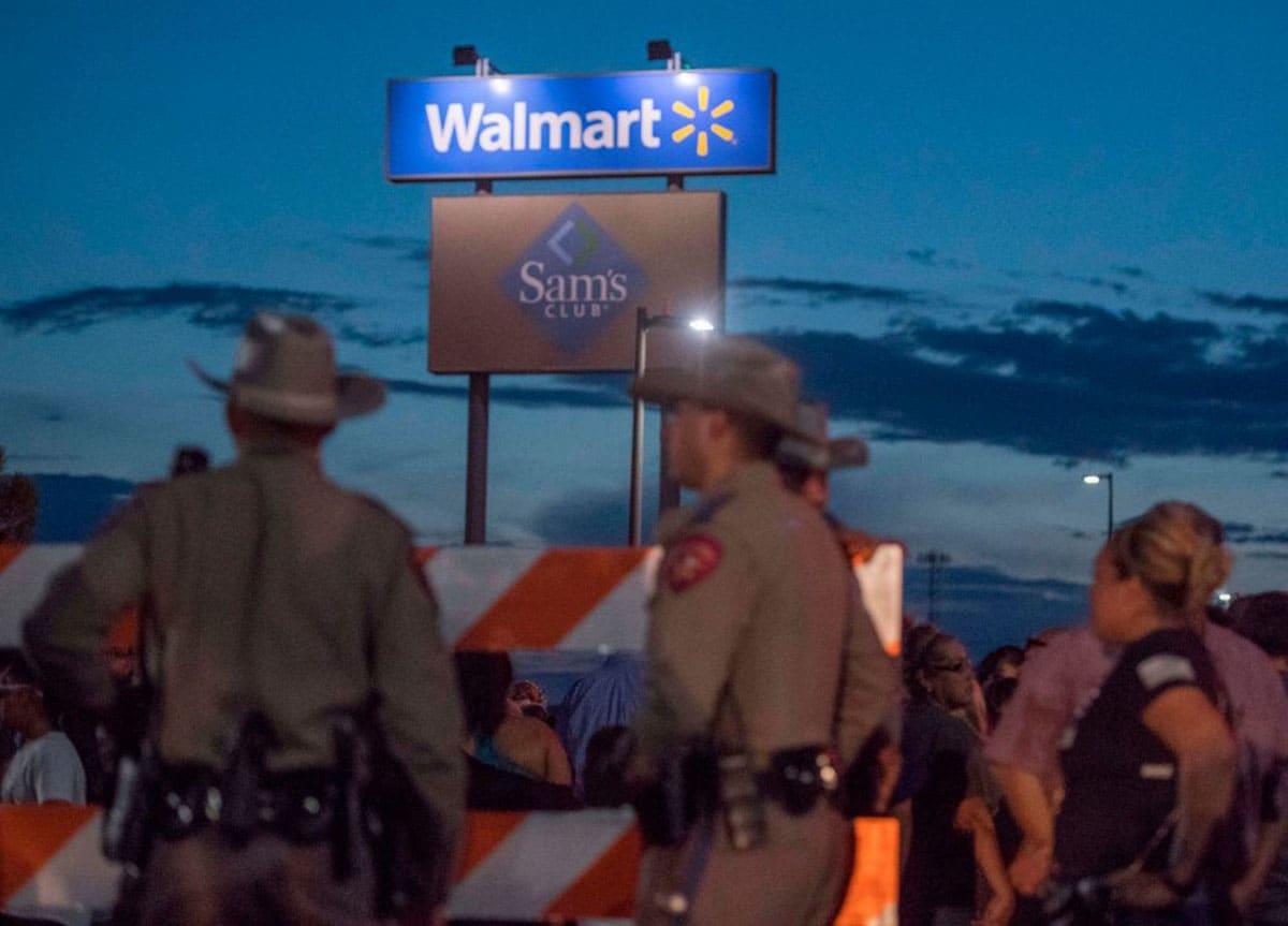El Paso: Capturan a sobreviviente del tiroteo antes de reunirse con Trump (VIDEO)