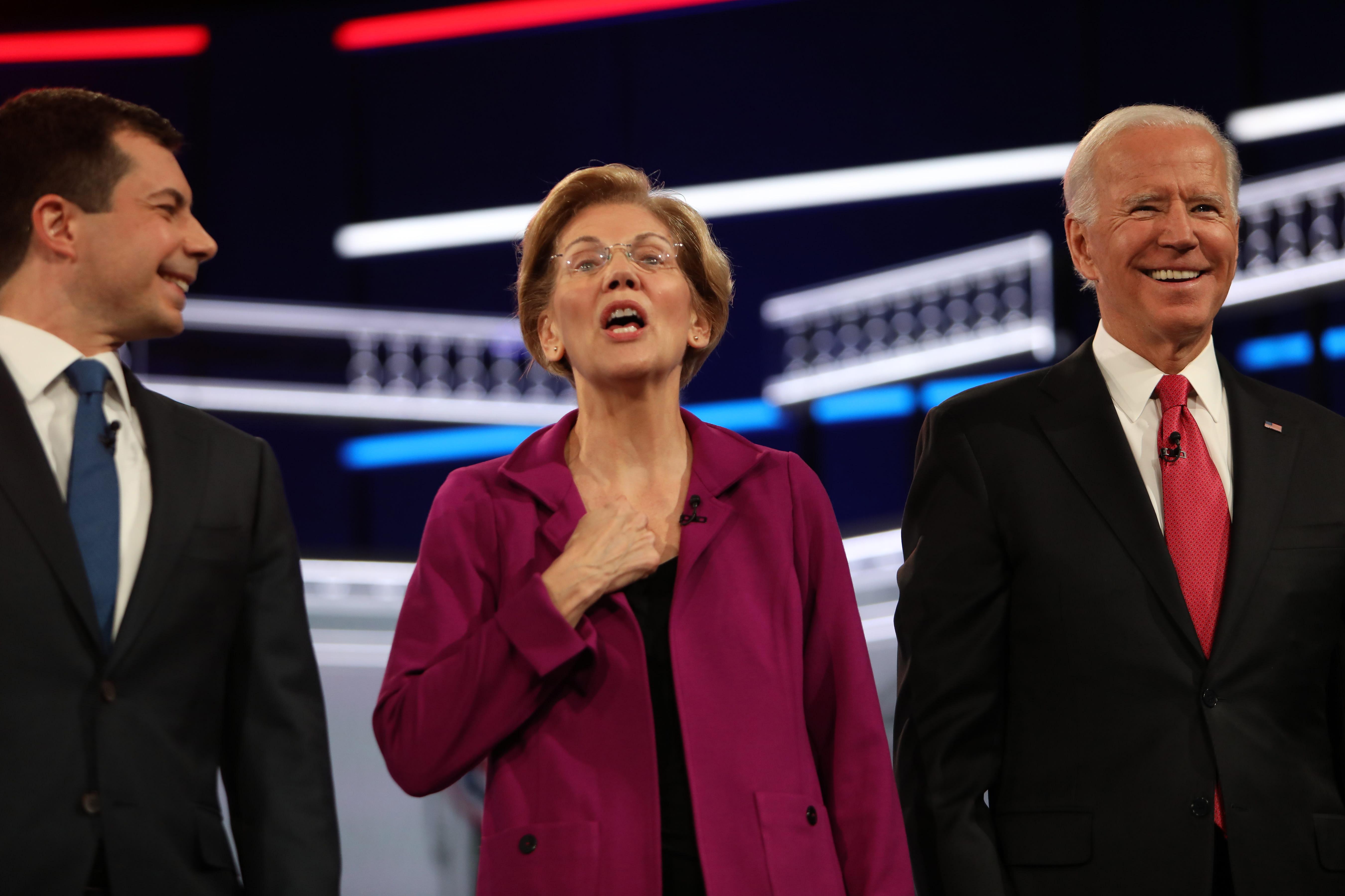 Nancy Pelosi Debate demócrata Atlanta Amy Klobuchar