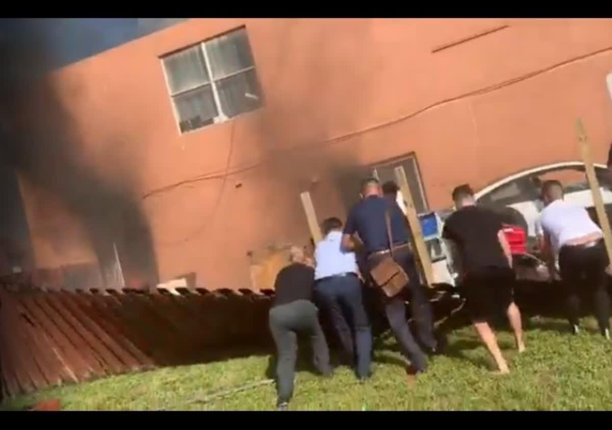 Florida. Incendio devoró casa de hispanos y ocho se quedan en la calle