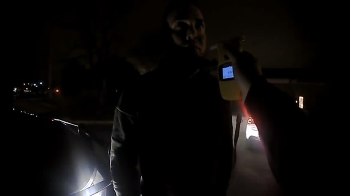 El Alcoholímetro lo delató y fue arrestado por la Policía de Georgia