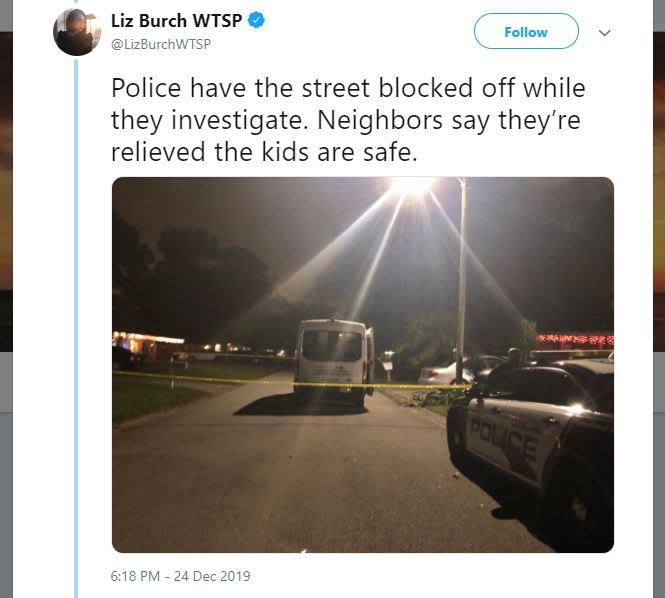 Florida: Desgracia en Nochebuena: Doble homicidio-suicidio delante de 4 niños