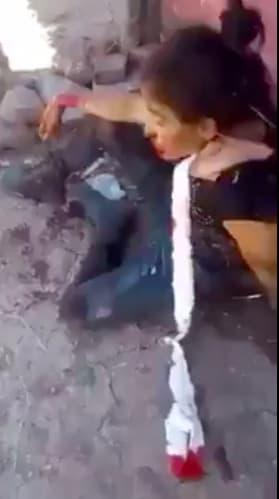 Se filtra video de los últimos minutos antes de morir de La Catrina
