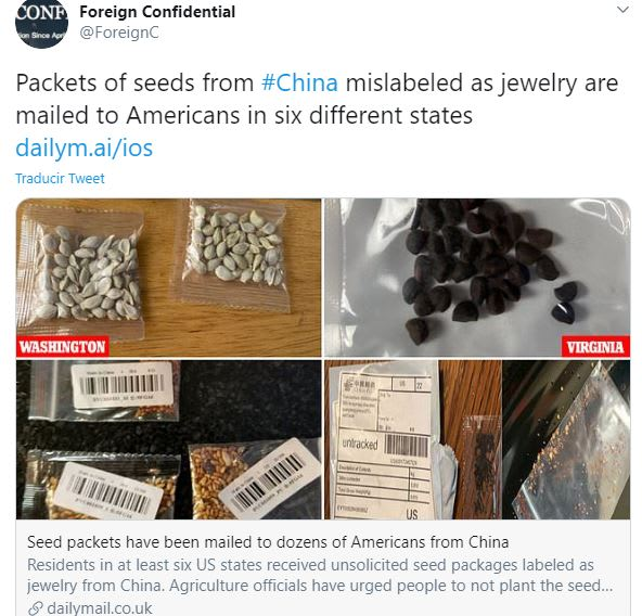 misteriosas semillas chinas