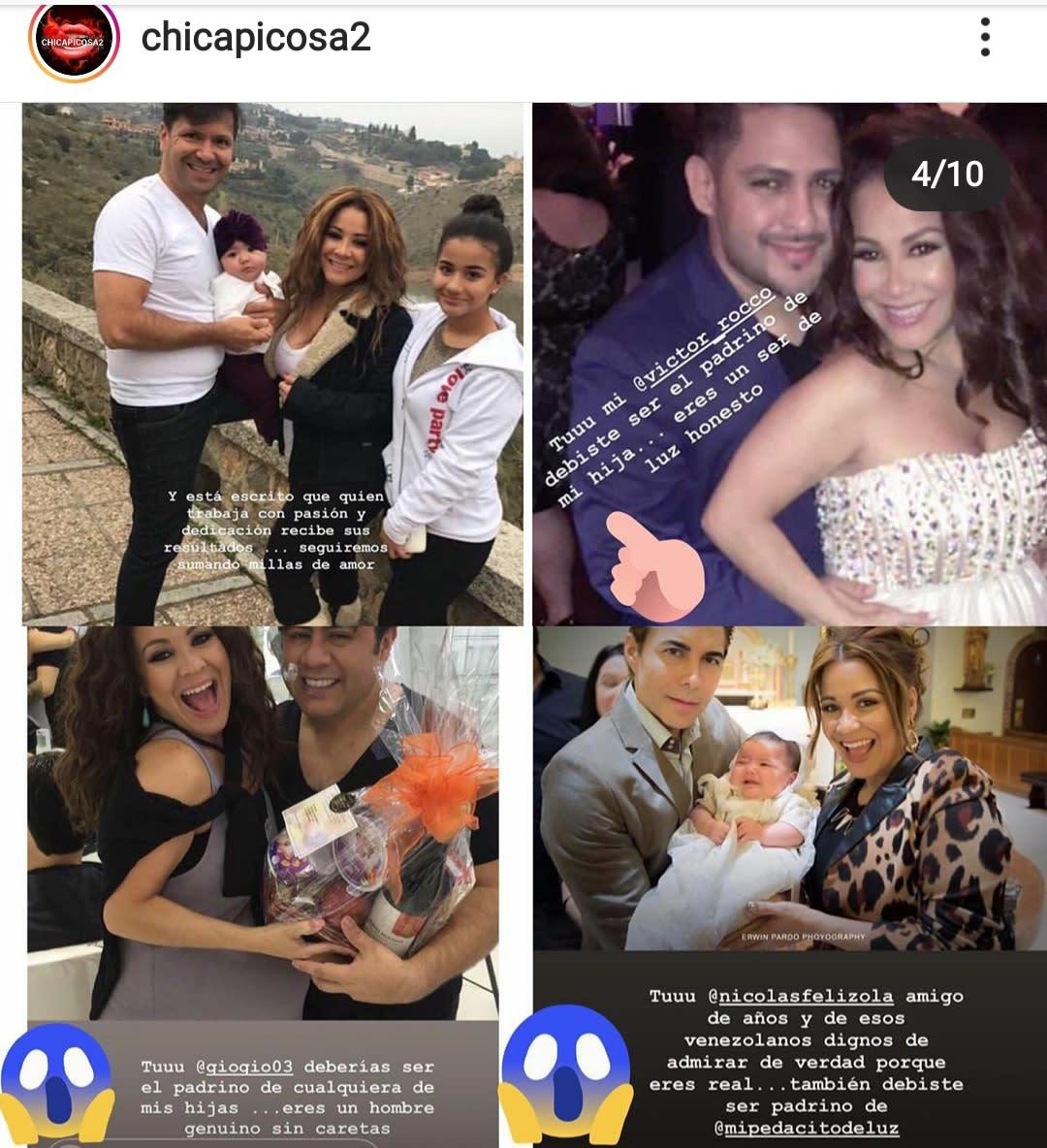 La Veneno Sandoval se arrepiente de que el productor de Suelta la sopa haya sido el padrino de su hija Amalia Victoria Carlos Mesber