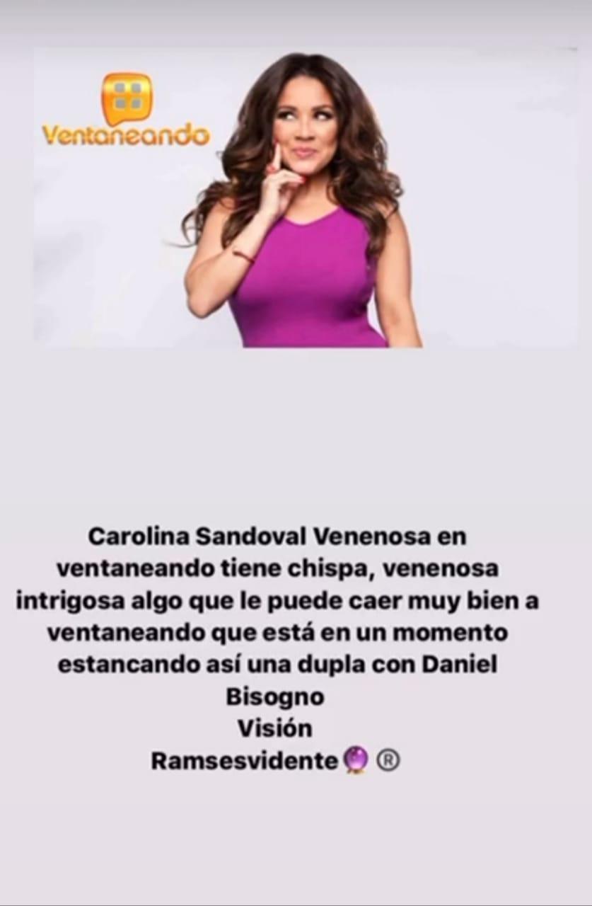 Ramsés Vidente revela a dónde iría a parar La Veneno Sandoval