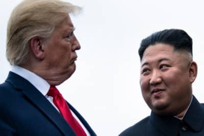 viejo errático Trump Corea del Norte