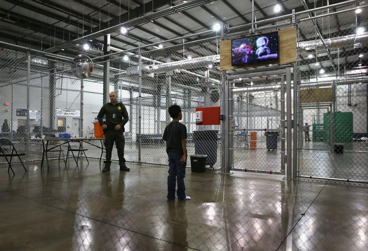 Separación de familias frontera