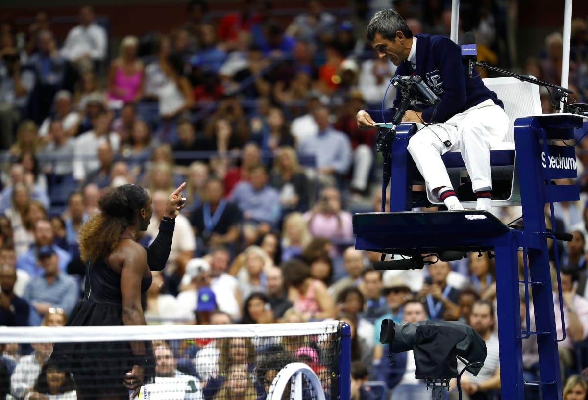 Naomi Osaka Serena Williams US Open