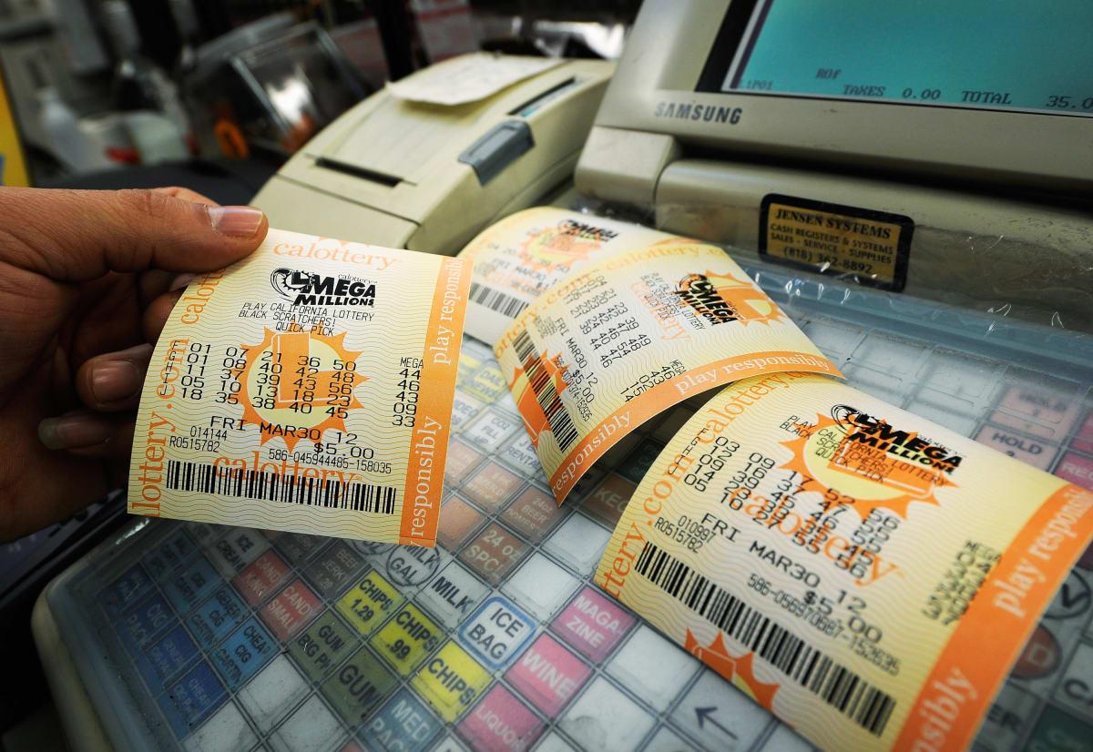 Mega Millions Powerball billete de lotería