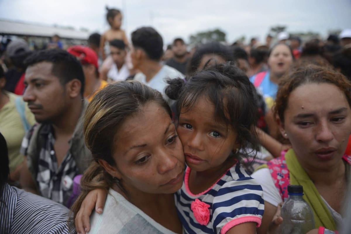 caravana de migrantes donald trump