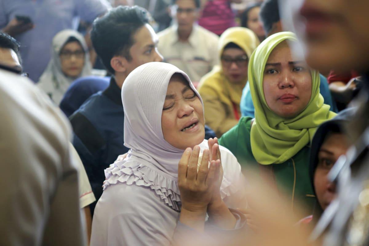 avión en Indonesia