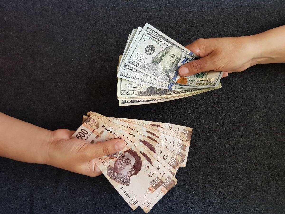 Peso mexicano frente al dólar