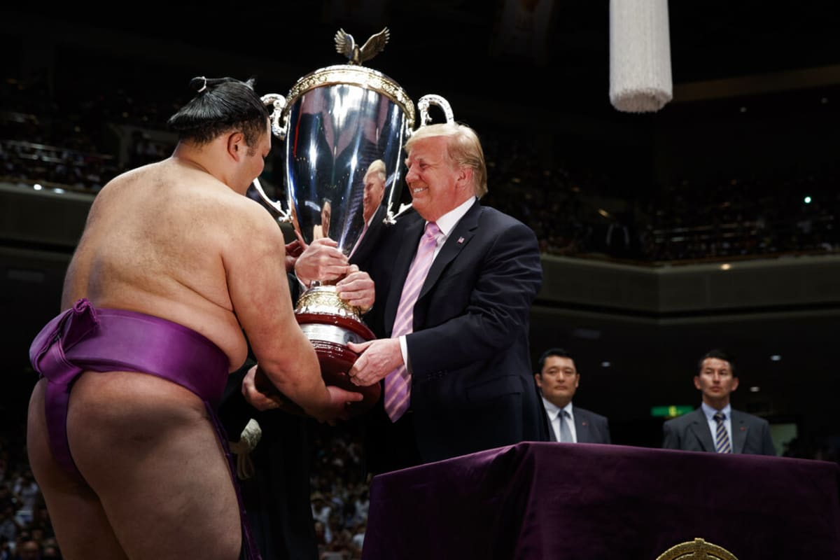 Trump Japón