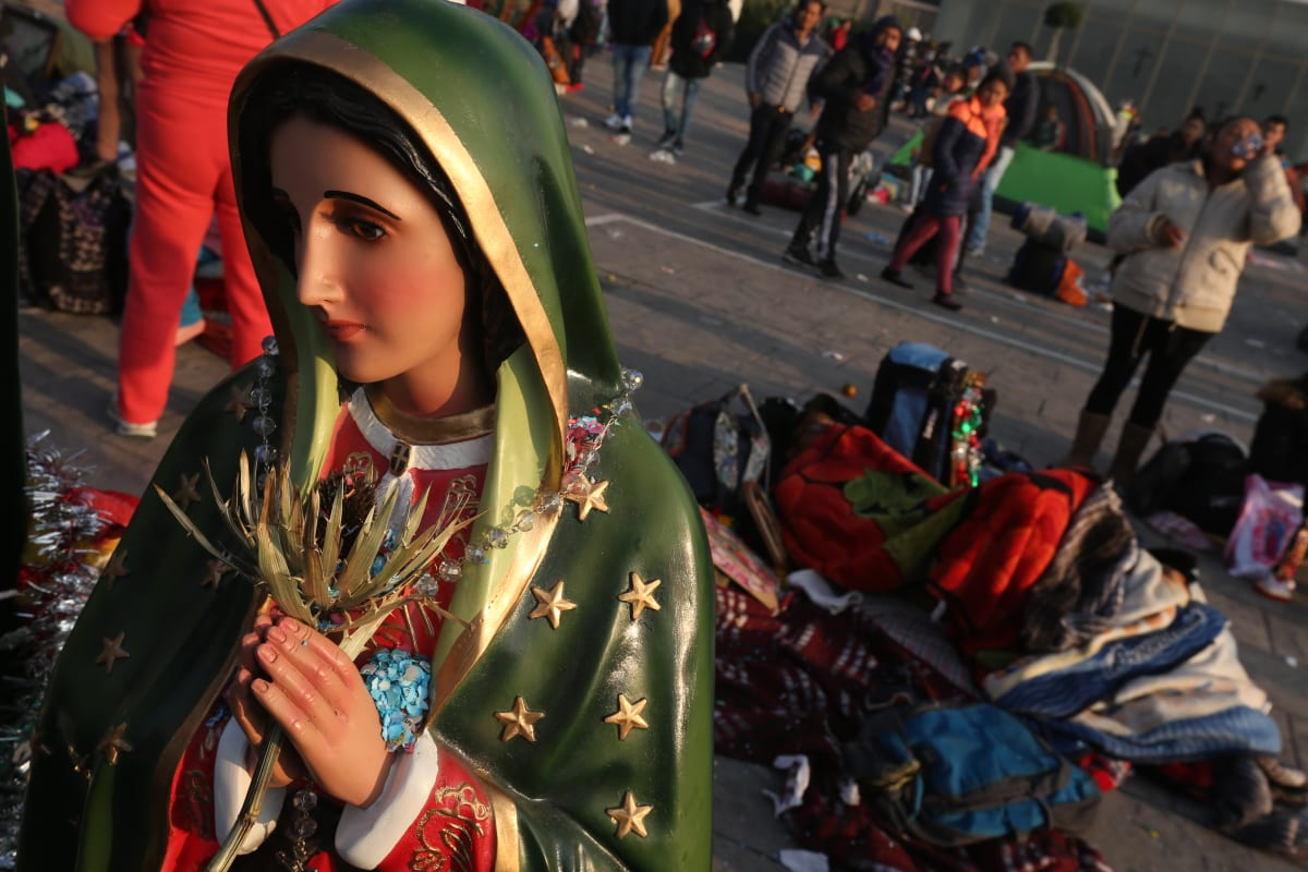 Virgen de Guadalupe milagros