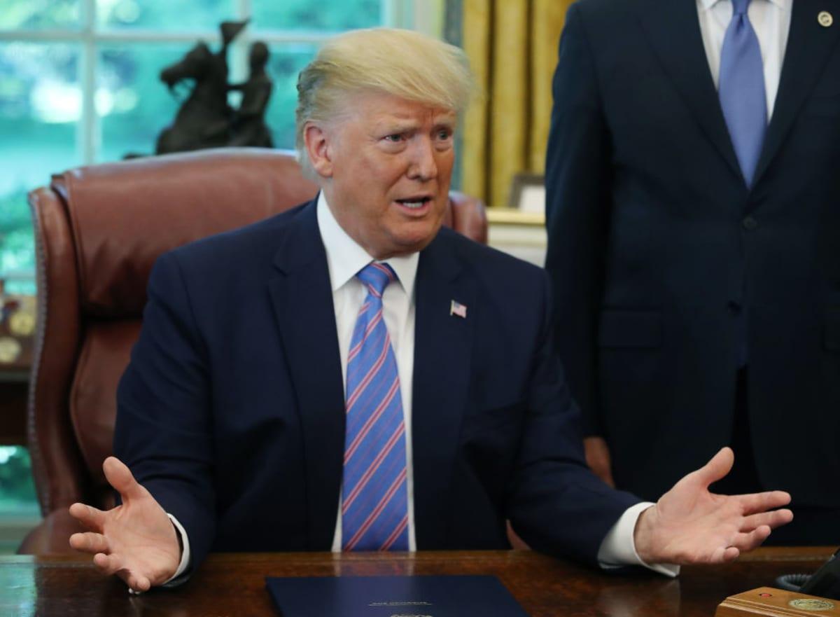 Trump redadas