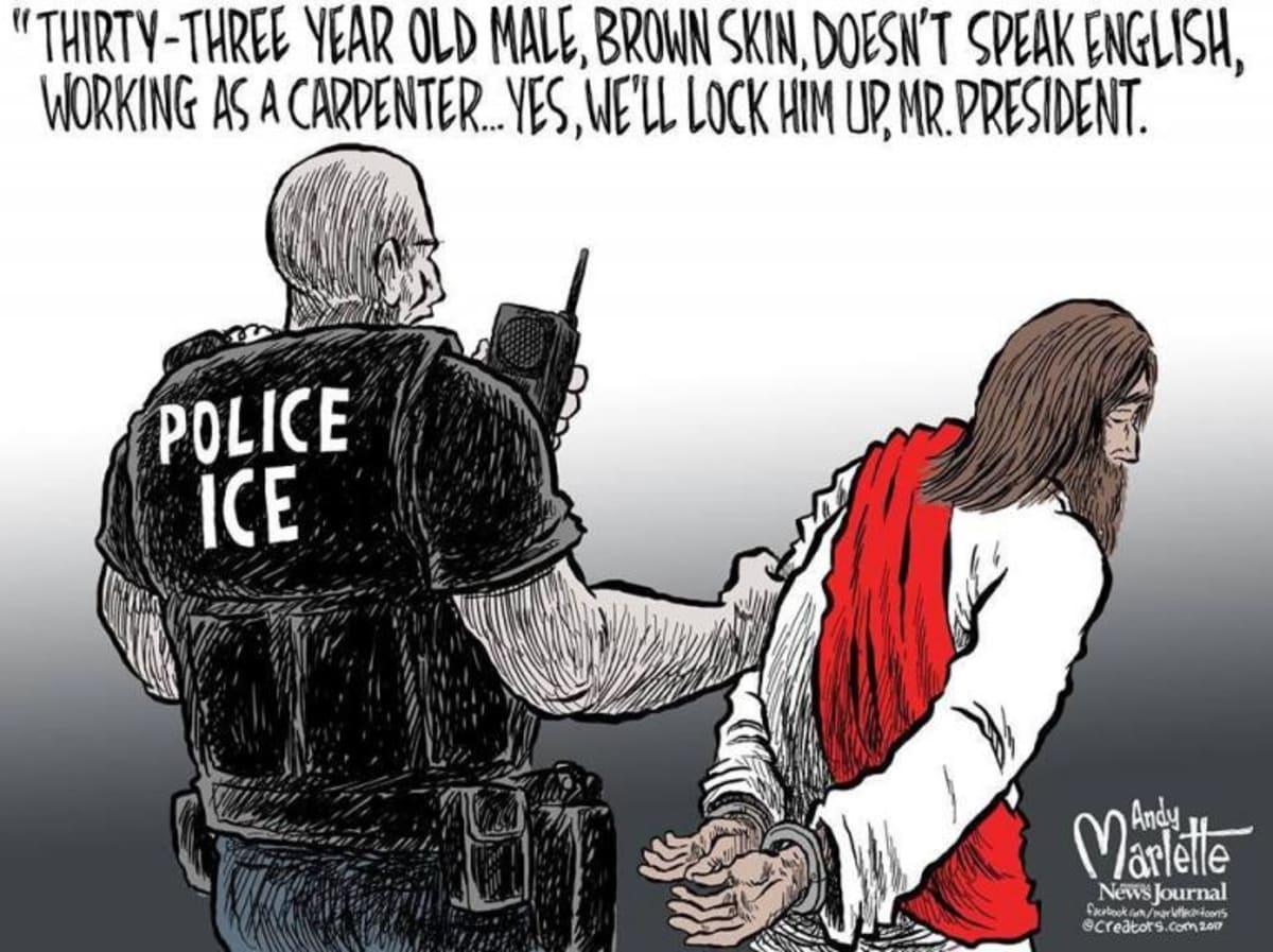 Crónica inmigración ilegal cristiano